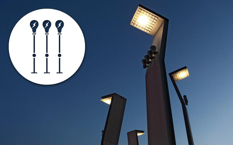 Impianti di illuminazione pubblica sea impianti for Illuminazione arredo urbano