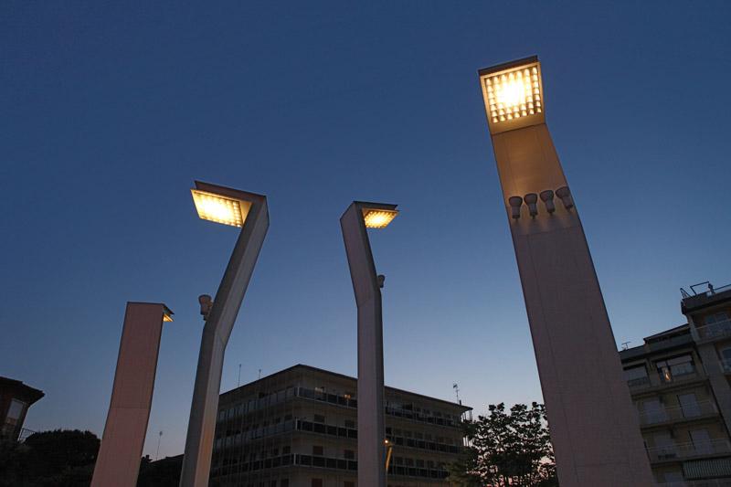 Impianti di illuminazione pubblica sea impianti for Alfredo irollo arredo urbano e illuminazione