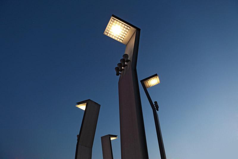 Lampioni Per Arredo Urbano.Impianti Di Illuminazione Pubblica Sea Impianti Installazione
